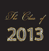 The class of 2013 — Stock Vector