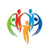 Diversity logo — Stock Vector