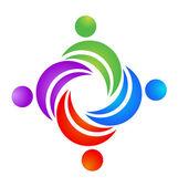 Logo çalışması swooshes — Stok Vektör