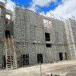 Building Under Construction picture background — Stock Photo