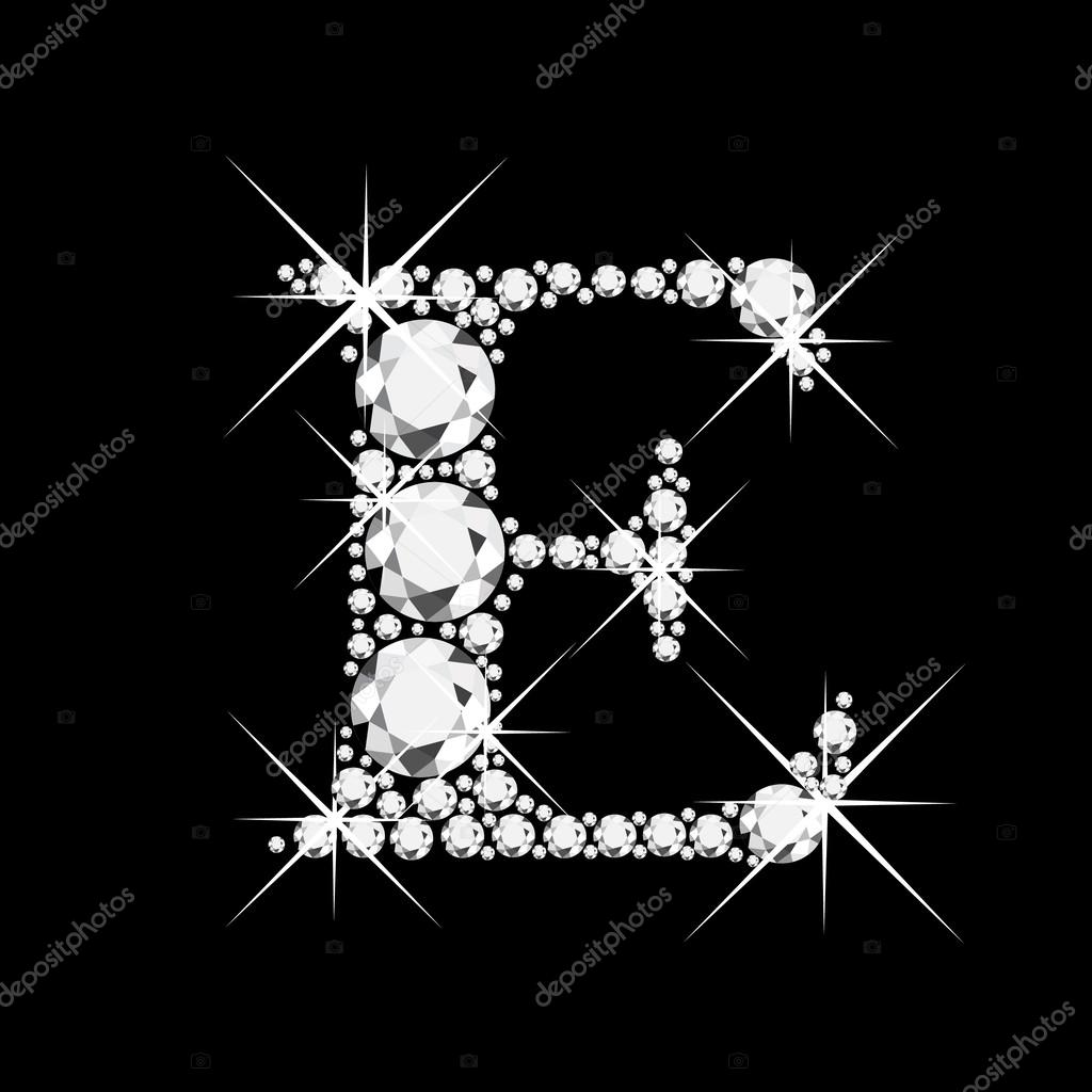 R Letter In Black Diamonds Letter C with diamonds...