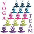 Stock Vector: Yogteam logo vector