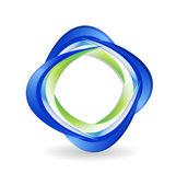 Abstract business logo vector — Stock Vector