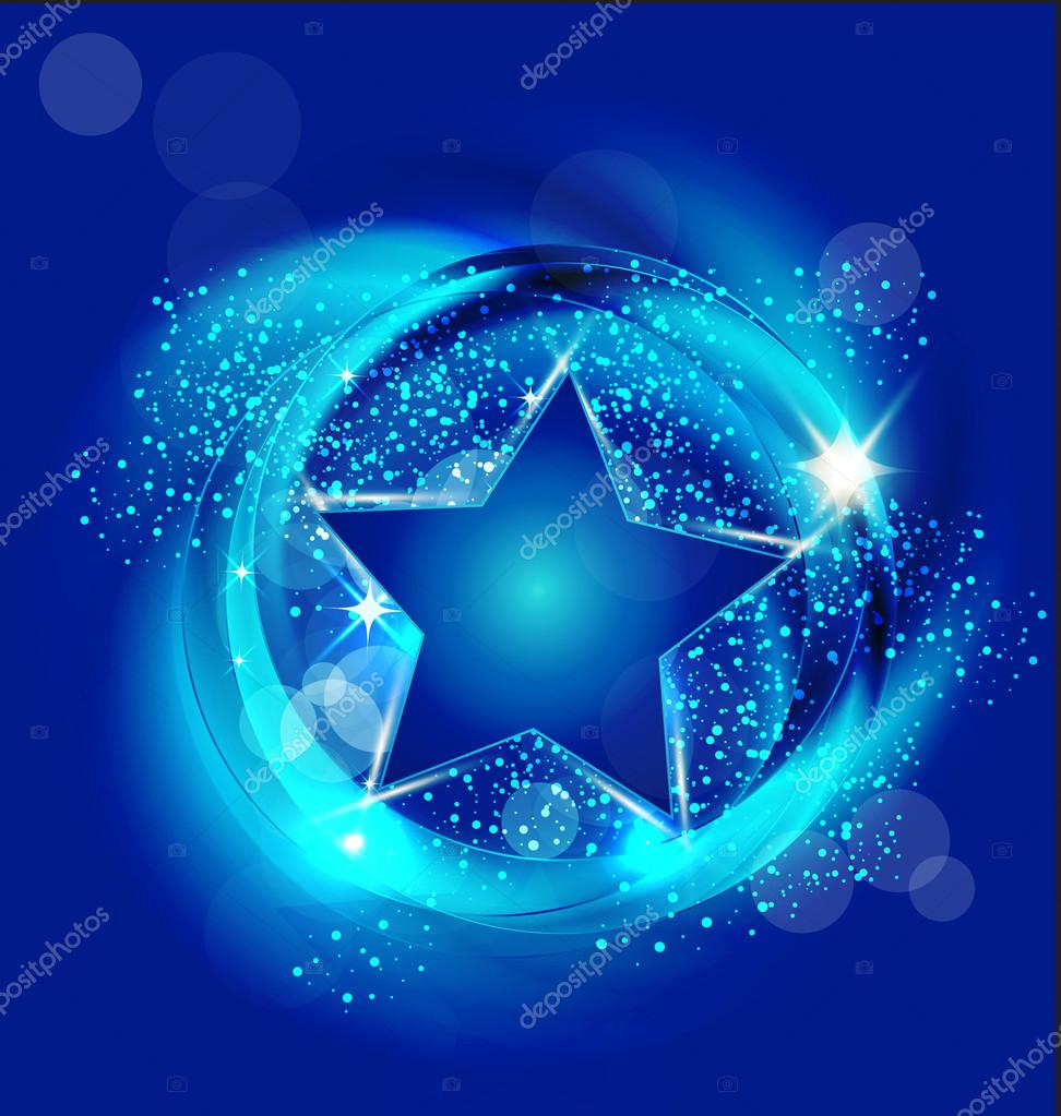 blue star background vector - photo #16