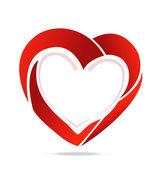 Heart logo — Stock Vector