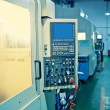 The operation of CNC machine tools — Foto de Stock