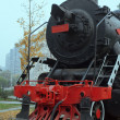 The steam locomotives, China — Foto de Stock