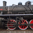 The steam locomotives, China - Stock Photo