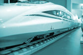 High-speed train model — Stock Photo