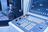 Cnc-Werkzeugmaschinen-Konsole — Stockfoto