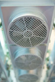 Fan, chassis cooling device — Stock Photo