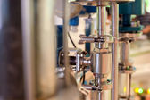 The link valves, pressure bars — Stock Photo