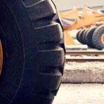 Wheel Dozer — Stock Photo