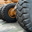 Stock Photo: Wheel Dozer