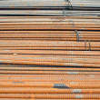 Construction rebar — Stock Photo