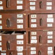 Stock Photo: Herbal Medicine Drawers