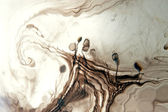 Ink, abstract art, — Stock Photo