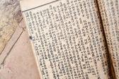 中国の伝統医学の古代の本 — ストック写真