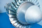 航空機エンジン モデル — ストック写真