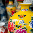 Painted porcelain crafts — Stok Fotoğraf #24904459