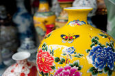 Painted porcelain crafts — Stockfoto