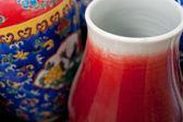Malowana porcelana rękodzieło — Zdjęcie stockowe
