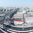 Panoramic city overpass — Stock Photo #28574049