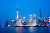 Shanghai Night - Bund — Stock Photo
