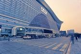 Global Center in Chengdu, China Night — Stock Photo