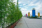 Plaza de la ciudad — Foto de Stock