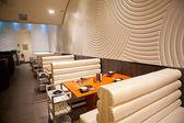 Upscale restaurant decoration — Stockfoto