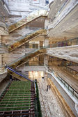 Large shopping center hall — Foto de Stock