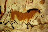 The ancient Egyptian art stone carving Egyptian art — Stock Photo