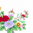 China's traditional Chinese painting, flowers and birds — Stock Photo #39367821