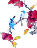 Chinas traditional Chinese painting — Stock Photo