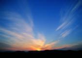 Sky,clouds glow graphic — Stock fotografie