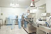 Pharmaceutical companies, pharmaceutical production line — Stock Photo