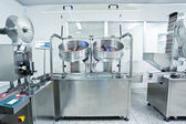 Pharmaceutical companies, pharmaceutical production line — Stock Photo