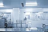 Le aziende farmaceutiche, linea di produzione farmaceutica — Foto Stock