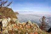 Baikal nature, spring — Stock Photo