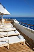 Ship deck — Stock Photo