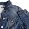 denim jacket — Stock Photo