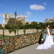 Stock Photo: Love locks