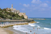 Jaffa beach — Stock Photo