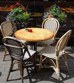 Straßencafé — Stockfoto