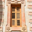 Window with shutter — Stock Photo