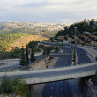 Jerusalem highway — Stock Photo