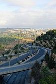 耶路撒冷公路 — 图库照片