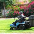 Lawn mower — Stock Photo