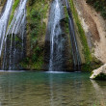 Tanur waterfall stream — Stock Photo